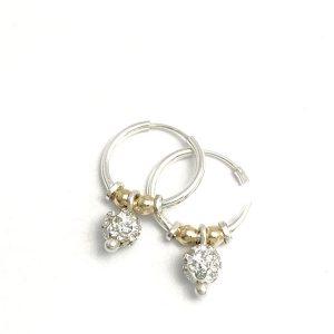 Candonga mini oro plata Cod:0142-4
